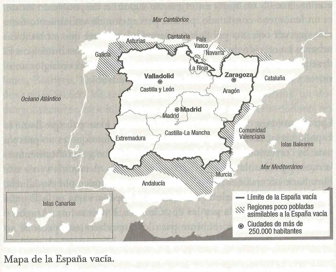 Resultado de imagen de Fotos de España vacía